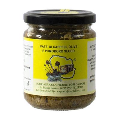 Patè Capperi Olive e Pomodori Secchi